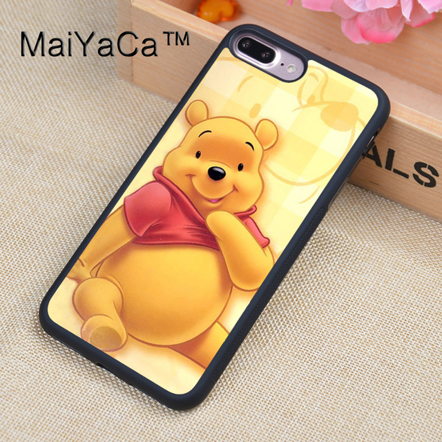 1addc5202d6 MaiYaCa Winnie the Poohs Cartoon Soft Rubber Fitted Cases For iPhone 8plus  Cover OEM For Apple iPhone 8 plus Back Shell