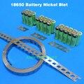 18650 pure nickel faixa LiFePo4 LiMn2O4 bateria LiCoO2 celular conecte o cinto de níquel baterias Cilíndricas fita de níquel