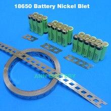 A pilha pura lifepo4 limn2o4 licoo2 da tira do níquel da bateria de 18650 conecta a fita cilíndrica do níquel das baterias da correia