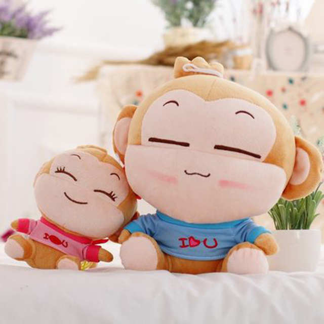 Giant Monkey Stuffed Animal Plush Toy Pluche Stuffe Speelgoed Cute