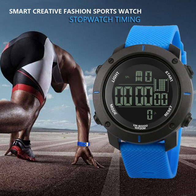 Men Sports Watches Digital Military Luxury Brand Sport LED Watch Waterproof  Digital Wristwatches Relogio Masculino