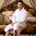2016 inverno 100% dos homens de seda pura sono robes roupões de altíssima qualidade seda natural masculino moda impressa de manga comprida kimono dressin