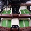 Tapetes do carro personalizado para ASSENTO todos os modelos LEON Toledo Ibiza Cordoba Marbella Terra RONDA estilo do carro esteiras pé
