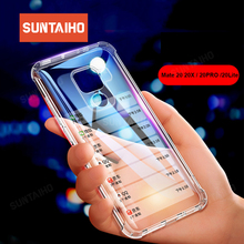 Shockproof phone case mate 20X case honor 9i case Suntaiho for Huawei P20 pro nova 3E mate 10 pro P10 360 degrees soft TPU cover