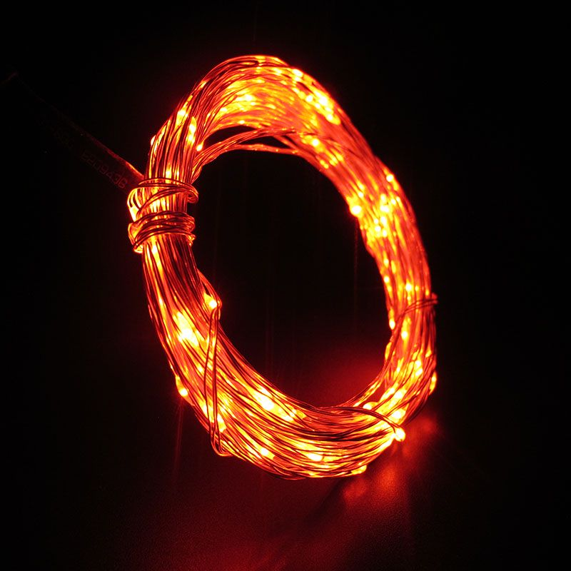 USB LED String Light 10M 100LEDs ruban fil chaîne Fée Light Party - Éclairage festif - Photo 5