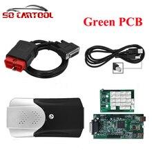 (5 шт./лот) 2015. R3/2015. R1 Программное Обеспечение Новый VCI TCS CDP Без Bluetooth Tcs cdp pro многоязычная + Коробка dhl Бесплатно