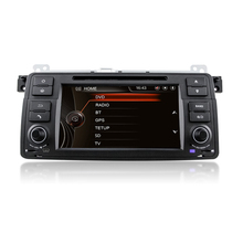 цена на 7 Touch screen 800MHZ Car DVD Player for BMW E46 3 Series M3 with Car radio GPS navigation 3G Bluetooth Radio USB Free Map