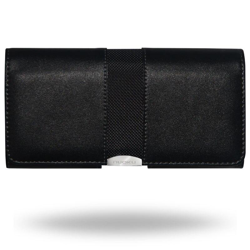 imágenes para 4.0 ''-5.5'' de Clip para el Cinturón Para la Mayoría de Los Teléfonos Móviles de Moda Para Hombre bolsa de cinturón de cuero case cover para iphone samsung nokia htc