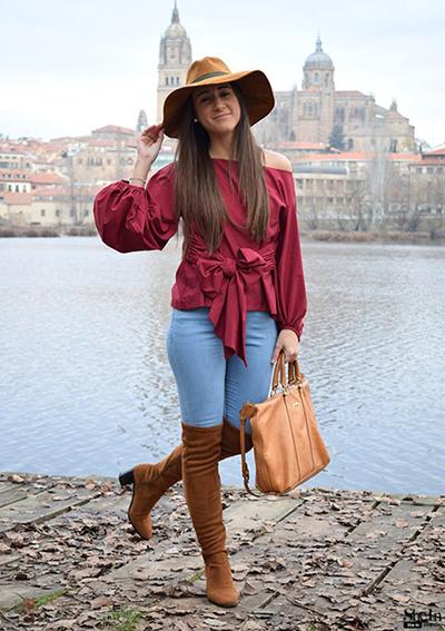 HTB1.iBtPVXXXXa9XpXXq6xXFXXXQ - Shirts Women Tops Long Sleeve Lantern Sleeve Blouse