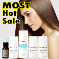 PRO keratin treatment straightening hair 100ml x 4 one set hot sale  keratin use at home or salon free shippping