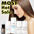 PRO tratamiento de queratina alisado de cabello 100 ml x 4 un conjunto venta caliente queratina uso en el hogar o salón de envío shippping
