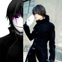Hot Anime DARKER THAN BLACK Hei Black Long Coat Cosplay Animation Party Costume Custom made Any Size