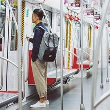 8848 mode männer rucksack große kapazität grau reisetasche echte wasserdichte oxford material muster rucksack rucksack s15005-13