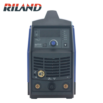 цена на RILAND Smart Welder MIG250GDM Single Phase 230V MIG Welding Machine Portable IGBT MIG TIG MMA Electric Welder Machine
