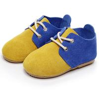 2018 Hot Sale Toddler Shoes Baby Shoes Hard Sole Baby Girls Boys Shoes Lace Up Printing