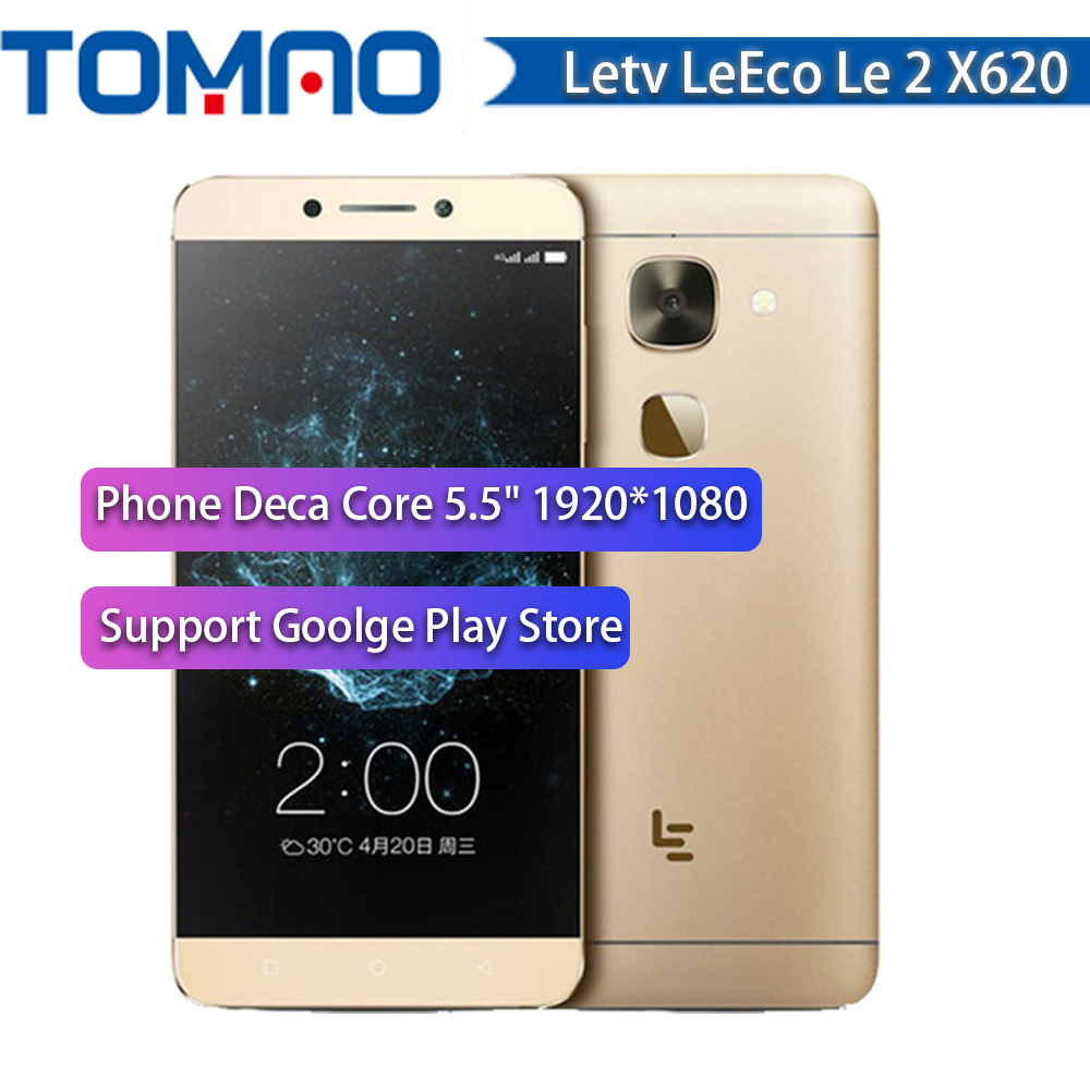 New LeEco LeTV Le S3 X626/Le 2 X526 X520/X620/X625 Phone 5.5'' FHD Screen Android6.0 Smartphone Quick Charge Touch ID Russian