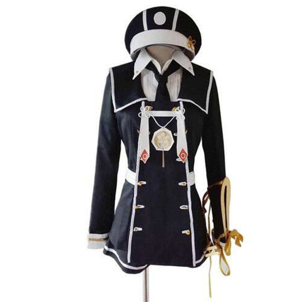 2016 Gokotai Cosplay Touken Ranbu en ligne Costume Kawaii Costume noir