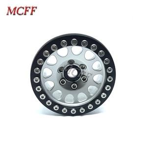 Image 3 - 4Pcs Metal RC Rock Crawler 1.9 Inch Beadlock Wheel Rim Hub  For 1/10 Axial SCX10 90046 TAMIYA CC01 D90 D110 TF2 Traxxas TRX 4