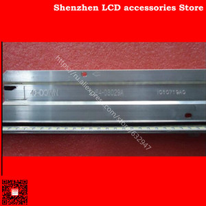 Image 4 - 2pieces/lot is new100%    L40F3200B 40 DOWN LJ64 03029A LTA400HM13 backlight 1piece=60LED 455MM 100%NEW