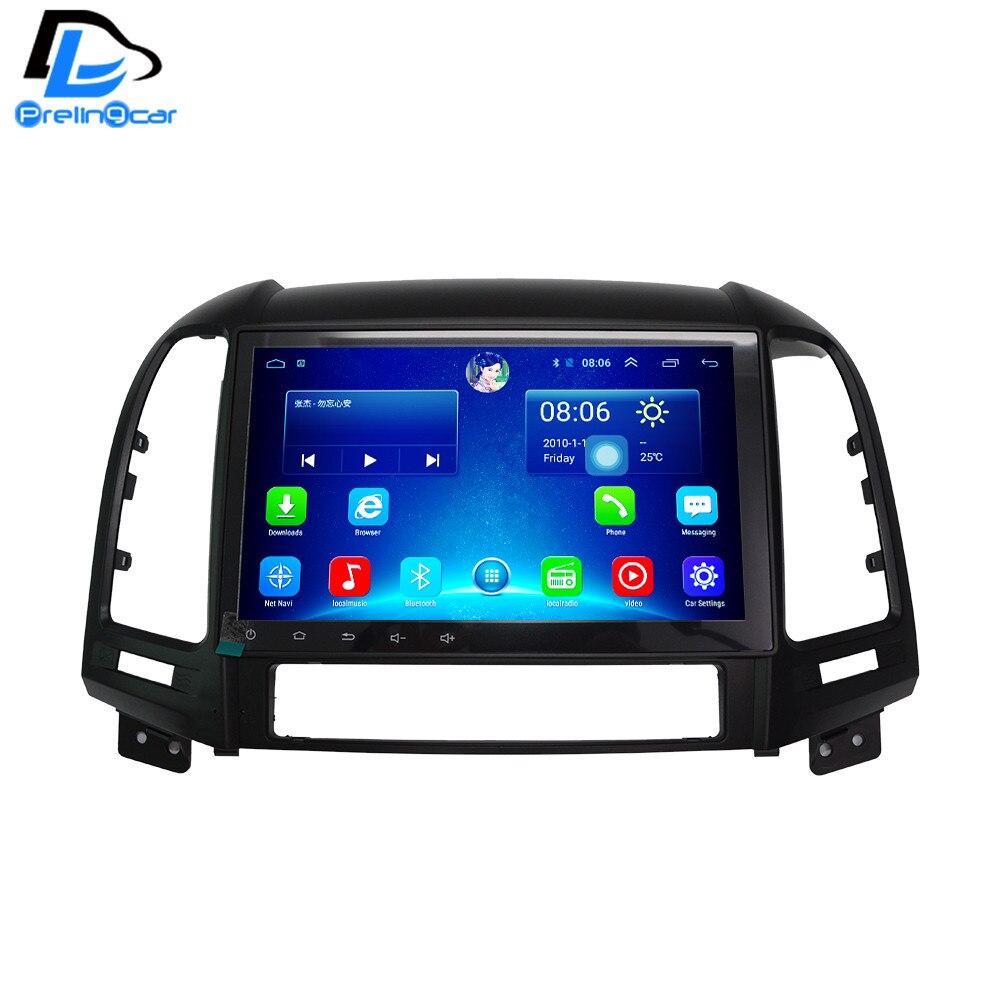 imágenes para 2G 32G opcional android 6.0 gps del coche multimedia video player radio en el tablero para HYUNDAI Santa fe de navegación estéreo