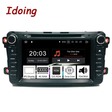 "Idoing 2Din Android8.0 untuk Mazda CX9 Mobil Dvd Player 8 ""Gps Navigasi 4G 32G Phone bluetooth RDS Radio Mobil Cepat BOOT"