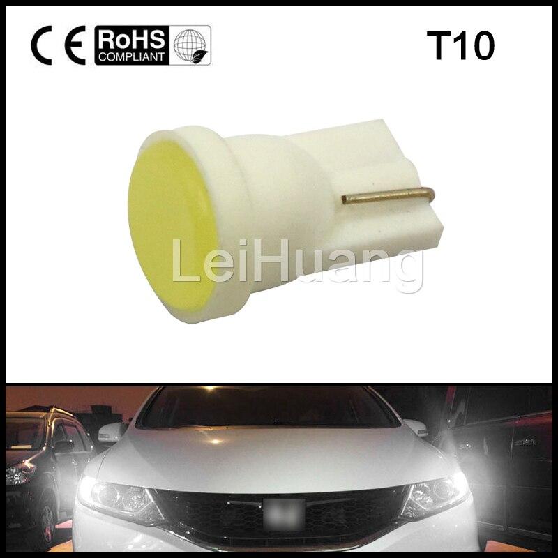 1pcs T10 W5W 194 Wedge Door Instrument Side Light Bulb Lamp white color