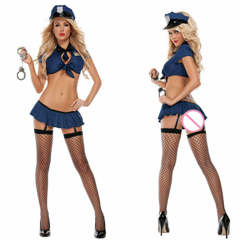 Women Sexy Policewoman Uniform Adult Sexy Erotic Lingerie Police Costumes For Women Police Costume Sexy Underwear