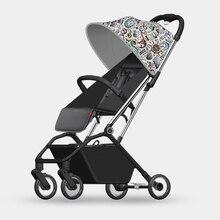 Складная детская коляска, легкая переносная тележка с одной рукой, четыре сезона, детская коляска для путешествий