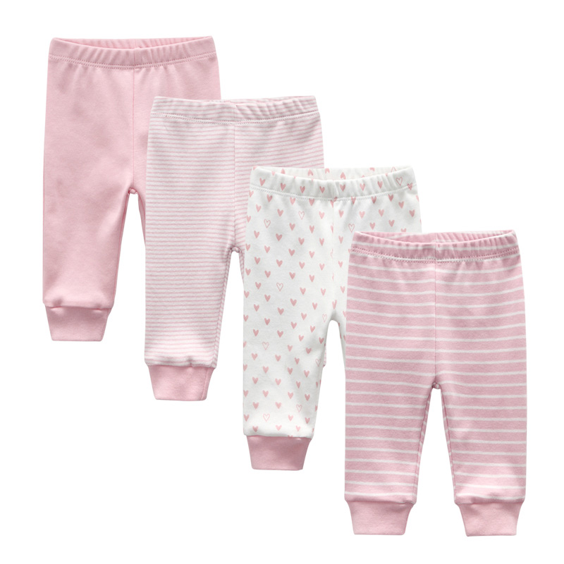 Spring And Autumn Kids Clothing Boys Girls  Pants Cotton Trousers Baby Pants(China)