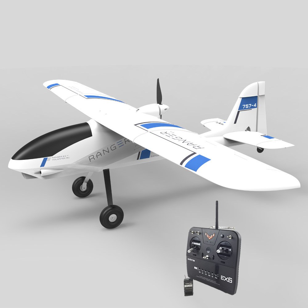 Volantex 757-4 Ranger RC RTF Plane Model W/ Brushless Motor Servo ESC Battery volantex super decathlon rc rtf plane model w brushless motor servo esc battery