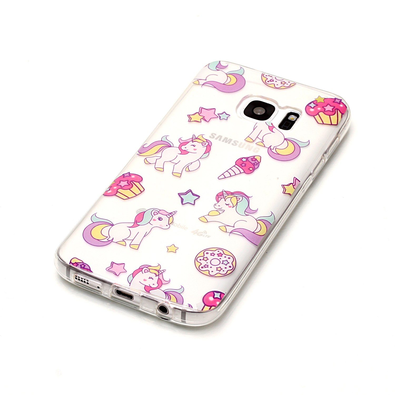 For Sansung Samsung Samsu Galaxy S7 S7 Edge SM-G935 G930 Ultra Thin Silicone Transparent TPU Etui Phone Mobile Carcasa Cover