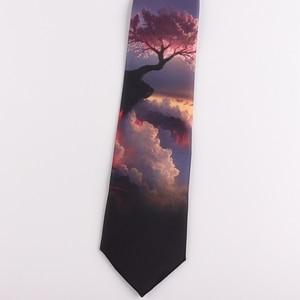 Image 3 - Tie 7 CENTIMETRI stampa legame maschio e femmina studenti letterario di tendenza di personalità casuale regalo cravatta