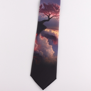 Image 3 - Tie 7CM printing tie male and female students literary trend casual personality gift tie