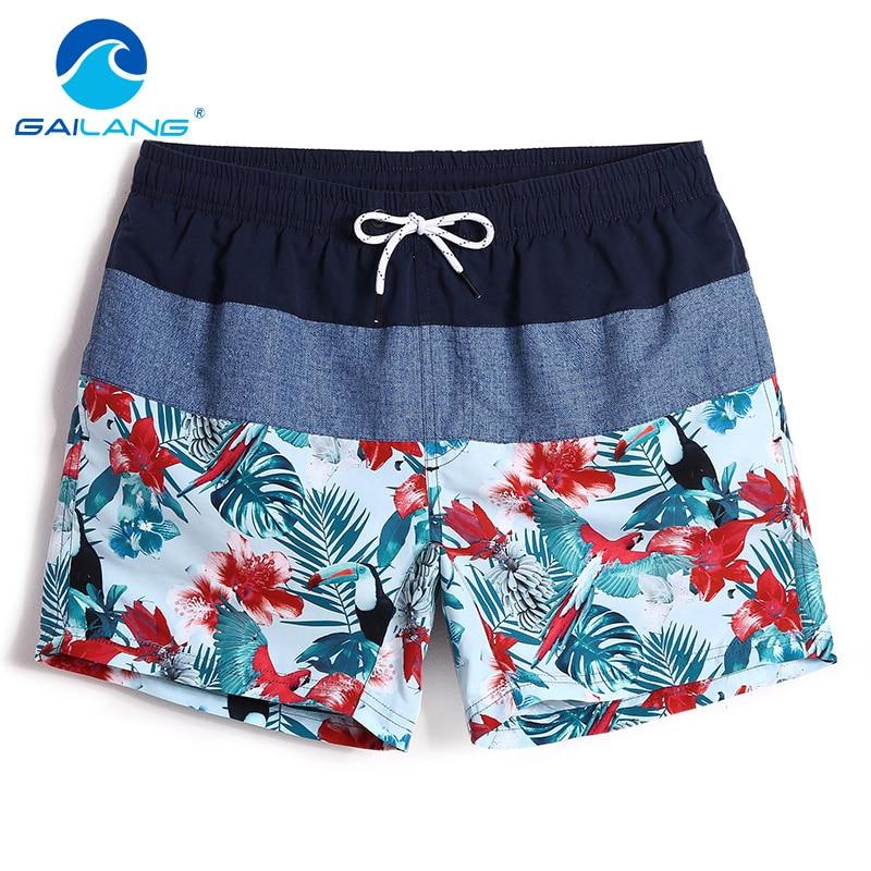 Gailang Brand Men Beach Shorts Quick Drying Swimwear Swimsuits Men Shorts Bottoms Plus Size XXXL Boardshort Bermuda Masculina