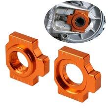 CNC ось блока цепи регулятор натяжителя для KTM 950 990 SMR SMT Duke 1050 1090 1190 RC8 Приключения супермото 1290 супер Приключения
