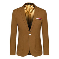 M-5XL Men Blazer 2018 Cheap Suit Jackets For Men Korean Fashion Luxury Designer Blazer Masculino Slim Fit Terno Coat AR888