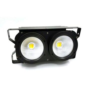 Lot Lighting COB 2x100w LED Blinder 2eyes Wash High Power DMX Stage Professional & DJ 8 pack newest stage lighting equipments dmx 2x100w cob led par led dmx cob stage light ktv dj disco lighting