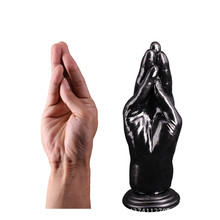 Silicone Powerful Suction Cup Anal Plug Insert Stopper Fist Fisting Sex Toys Stuffed Dildo Hand Big Dildo Sex Products for Woman
