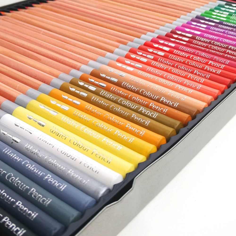 Hero artist pencils 60 lapis de cor profesionales colored pencils watercolor pencils lead water soluble
