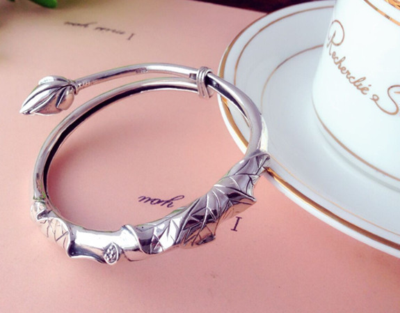 S925 sterling silver Thai silver bracelet European art Fan bracelet new fashion bracelet браслет art silver art silver ar004dwxux38