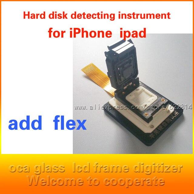 Для iPhone4 5S 6 для ipad2 5 изменять серийный номер, жесткий диск, ремонт, заменить инструмент lga60/52 Испытательный Блок
