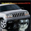 O Envio gratuito de 12 pçs/lote Branco Interior Luzes LED Para Jeep Grand Cherokee 1999-2004