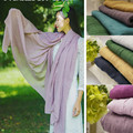 Oversize Cotton linen Wraps maxi plain scarf solid hijab fashion foulard lady shawls soft islamic muslim women scarves hijabs