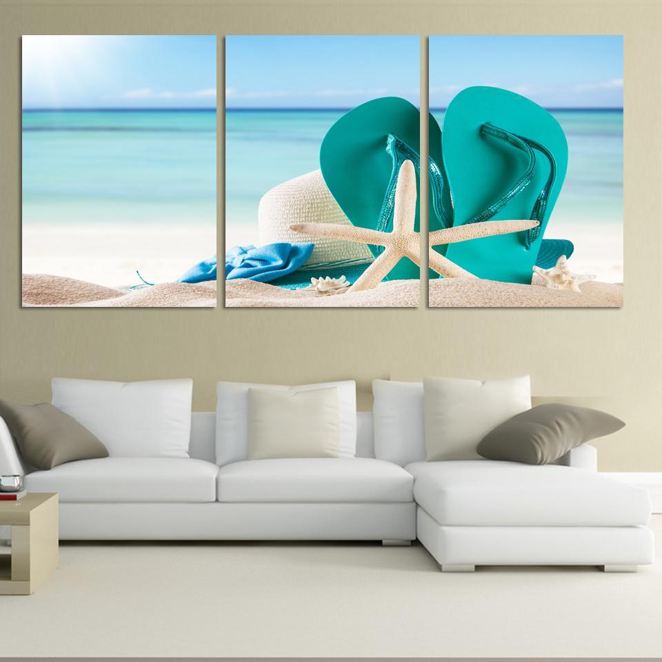 Beach Wall Art online get cheap large beach paintings -aliexpress | alibaba group