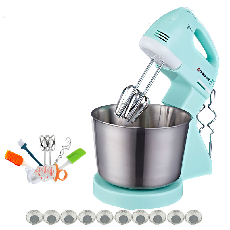 Rotary Egg Beater Electric Desktop Egg Beating Machine Fully Automatic Stirring Equipment with Barrels Cream Baking Machine top sale stainless steel mug automatic stirring mug automatic stirring 350ml with lid handle button design keep warm green