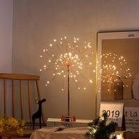 Novelty Explosion Fireworks Night Light Children Bedroom Dandelion Night Lamp Cloud Light Emitting Children Room Decoration