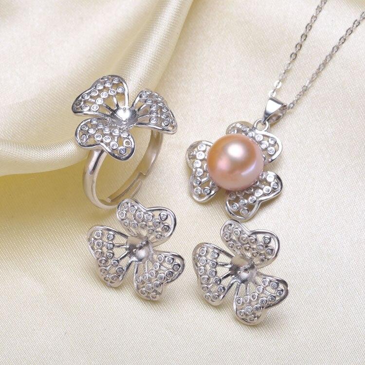 Ensemble de boucles d'oreilles pendantes à la mode avec perles ensemble de montures paramètres ensemble de bijoux pièces breloques pour dames filles-in Bijoux et composants from Bijoux et Accessoires    1