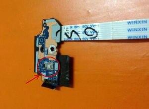 Przycisk zasilania płyta z kablem dla Acer Aspire V3-551 V3-551G V3-571 V3-571G serii