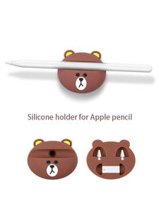 Bear pencil Dock Stand For Apple pencil base storage stylus pen base For iPad Pro 10.5 12.9 Pencil Stylus Touch Pen Tip storage