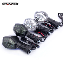 For SUZUKI DR-Z 400S 400SM, GSX-R 600/750/1000 Clear Motorcycle Accessories LED Turn Signal Indicator Lights Blinker Lamp